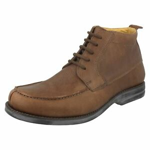 Floater Regalo Uomo Brown Up brown Anatomic stivali Oil Ankle Lace Formal 6YY8xOwT