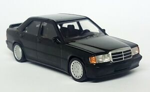 Norev-1-43-Scale-Mercedes-Benz-190-E-2-3-Black-W201-Diecast-Model-Car