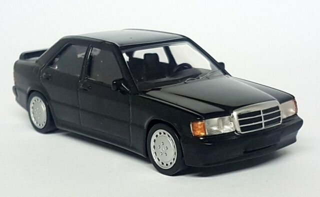 Norev 1/43 Scale - Mercedes Benz 190 E 2.3 Black (W201) Diecast Model Car