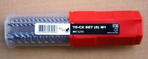 neuer-hochwertiger-TE-CX-6-M1-Satz-von-original-HILTI-SDS-plus-von-5-12mm