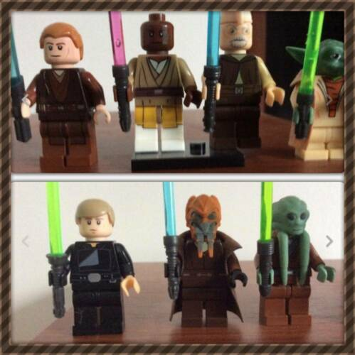 NEW FOR 2018 Lego Star Wars Custom Lightsaber Jedi X15