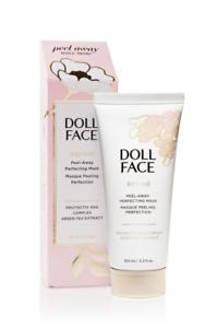 DOLL FACE Refine Peel- Away AHA & Green Tea Gel Mask 3.3 Fl.Oz - New in Box