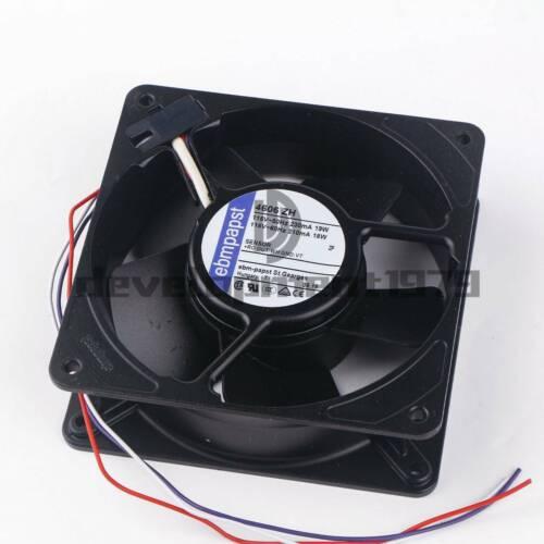1PC EBMPAPST 4606ZH metal iron leaf fan 115V 0.23A 19W 120*120*38MM