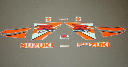 GSX-R 1000 2009-2014 full decals stickers graphics kit set k9 L4 orange adesivi