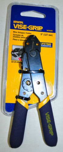 "IRWIN VISE GRIP Wire Stripper 5/"" Cutter Length"