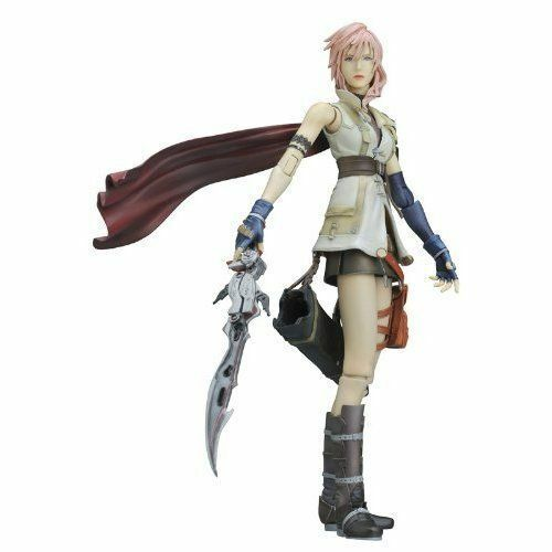 Final Fantasy XIII Figurine Lightning en boîte - Pay arts Kai - Square Enix
