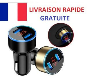 Chargeur-voiture-allume-cigare-usb-double-universel-smartphone-led-digitale-3-1A
