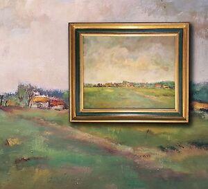 Louise-Nys-Bruggeman-1923-2013-Pyrenaeen-bei-Tournay-impressionist-Ol-Malerei