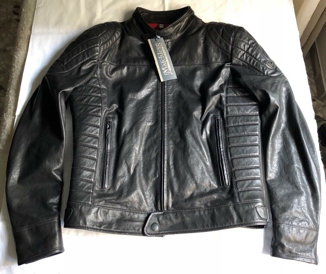 MATCHLESS MODEL X RELOADED RELOADED RELOADED BLOUSON LEATHER
