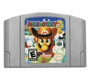 Mario Kart N64 Video Game Cartridge Console Card For Nintendo US Version - Party