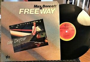 Grant-Geissman-w-Max-Bennett-The-Drifter-TBA-Records-216-1986-NM-Shrink
