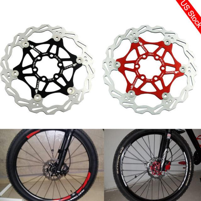 MTB MTN Road bike 160//180//203mm Bicycle Disc Brake Floating Rotor with Caliper