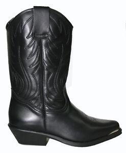 Ladies Cowboy Western Boots Black