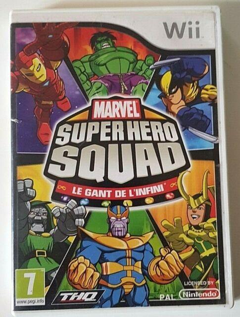 Marvel Super Hero Squad Le Gant De L'Infini - Nintendo Wii - PAL
