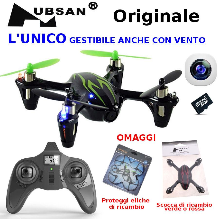 DRONE H107C radiocomando 2,4Ghz mini X4 CAMERA Quadricottero ORIGINALE HUBSAN