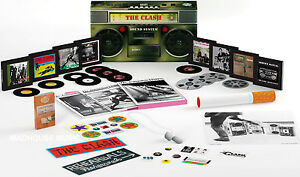 THE-CLASH-CD-x-8-Sound-System-Deluxe-BOOMBOX-Box-Set-Remastered-Outakes