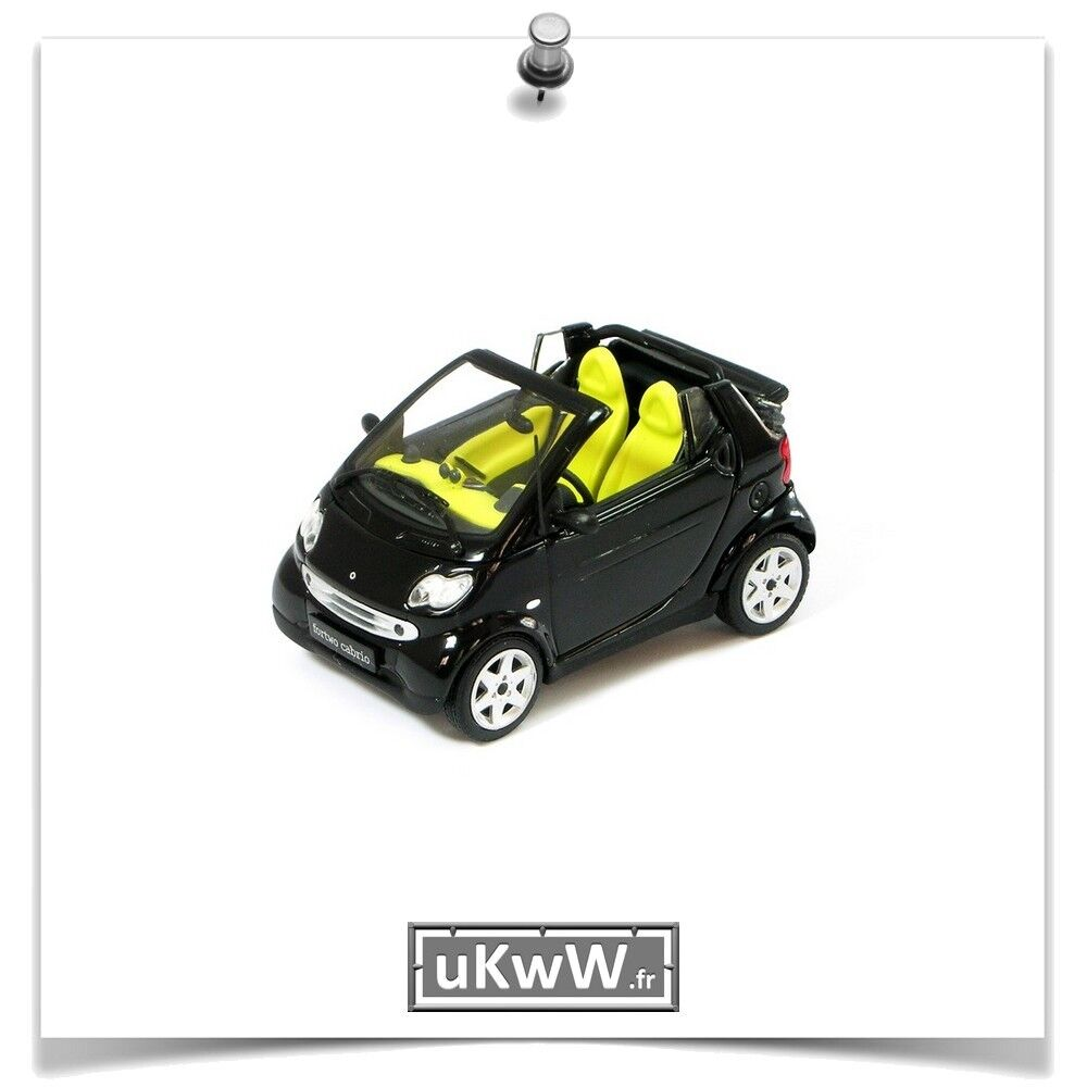 Minichamps 1 43 - Smart Fortwo 2003 black