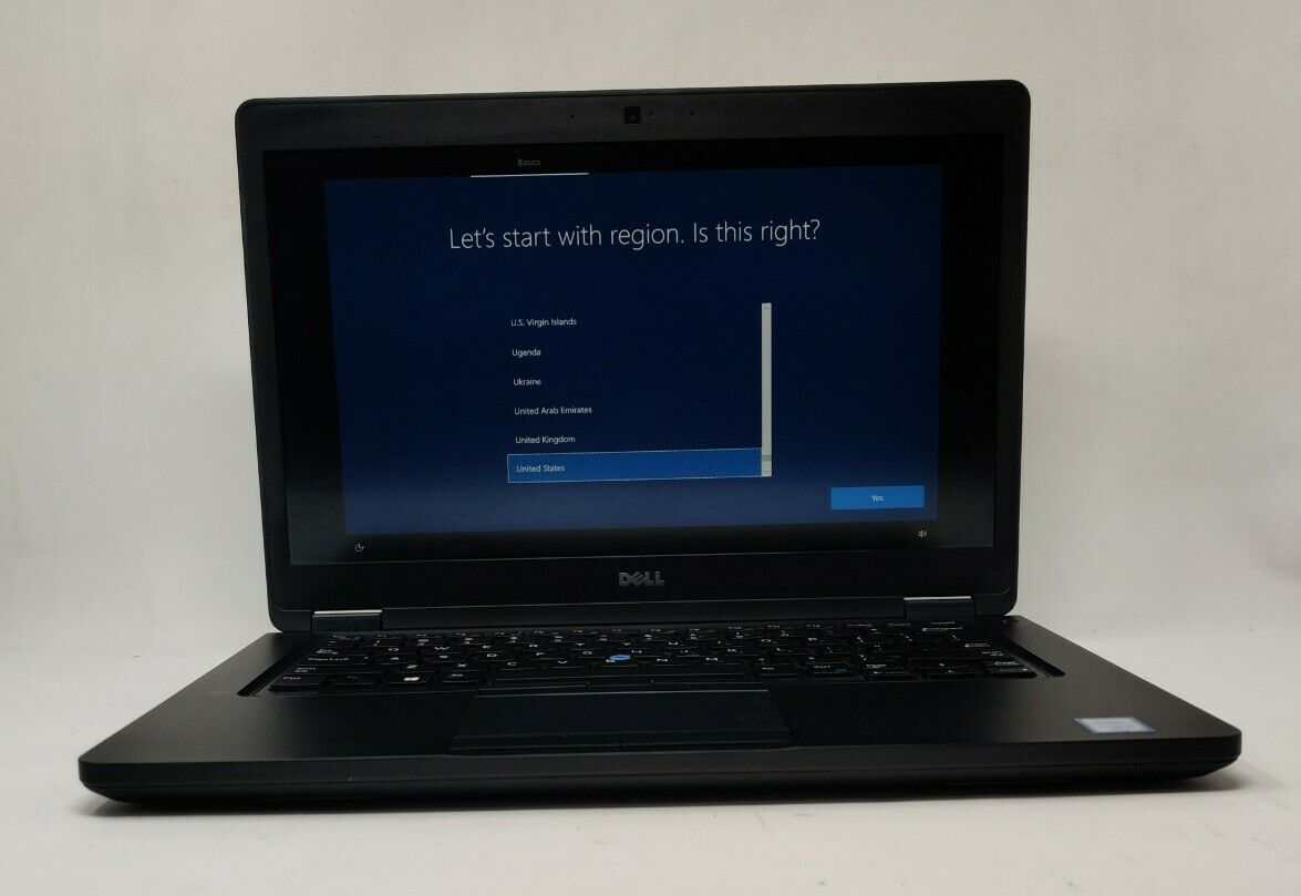 Dell Latitude 5480 FHD Intel i5-6300U, 2.40GHz 8GB RAM 256GB SSD W10P Webcam