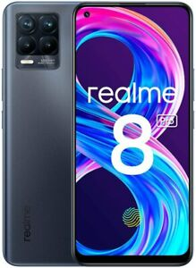 """Cellulare Smartphone Realme 8 PRO Dual Sim 128GB+8GB 6,4"""" Infinite Black"""