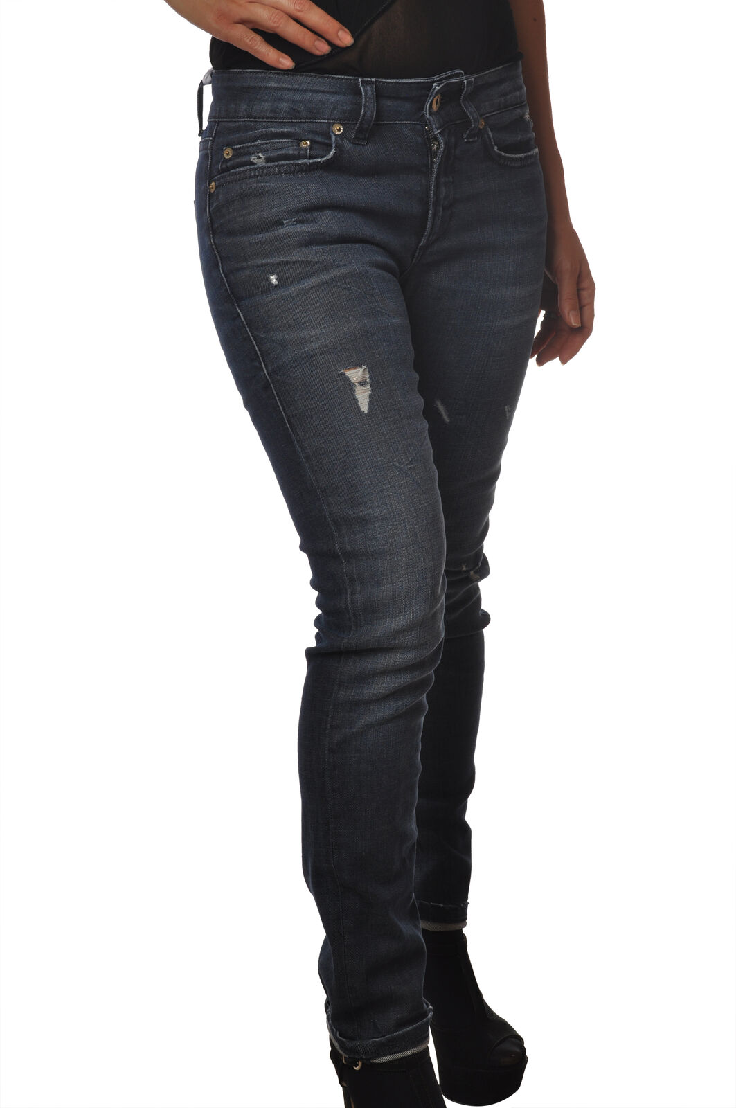 Dondup - Jeans-Pants-slim fit - Woman - Denim - 5443409C191538