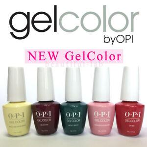 OPI-GelColor-15ml-0-5fl-oz-Gel-Nail-Polish-PERU-LISBON-GREASE-SoakOff-Base-Top