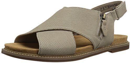 79b0a7088e5c Buy Clarks Corsio Calm Criss Cross Sandals Sand Leather 6 US   36 EU online