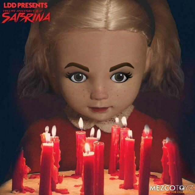Mezco Sabrina Living Dead Dolls Chilling Adventures Of Sabrina Witch Cat