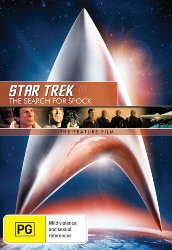 1 of 1 - Star Trek 03 - The Search For Spock (DVD, 2009)