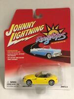 437-01 Jl Johnny Lightning 1:64 Die Cast Ragtops Bmw Z-3 Convertible In Yellow