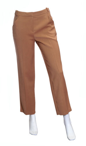 6-18 NEW Ex M/&S Ginger Crop Trousers sizes
