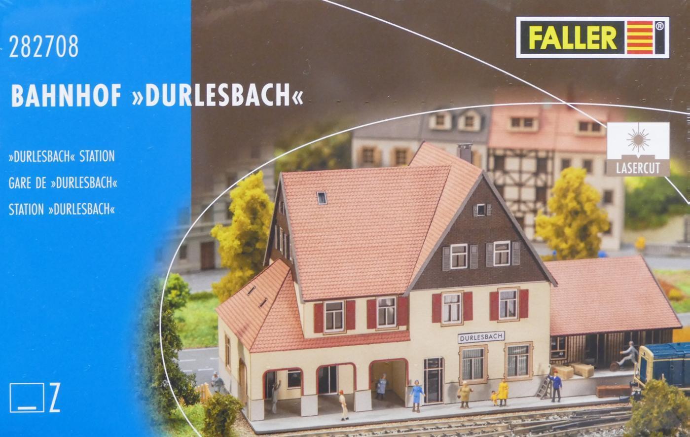 Faller 282708 Z - Bahnhof Durlesbach NEU & OvP  | Verbraucher zuerst
