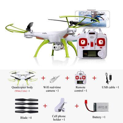Syma X5HW 4CH Mantener altura RC Drone Con HD Cámara Giroscópica FPV tiempo real