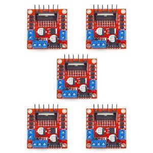 Details about 5X Dual H Bridge DC Stepper Motor Driver Controller Board  Module Arduino L298N