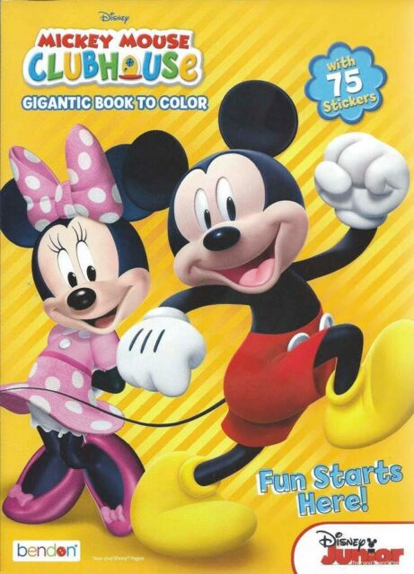 Disney's Mickey Minnie Mouse Halloween Coloring Book & Activity Pad For  Sale Online EBay