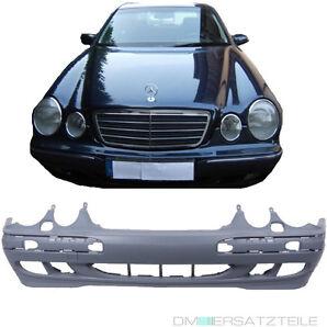 Mercedes W210 S210 1999-2002 Stoßstange vorne grundiert für SRA und NSW aus ABS