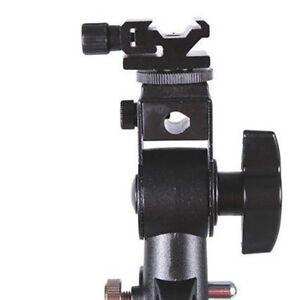 Swivel-Flash-Bracket-Hot-Shoe-Adapter-Holder-Speedlite-DSLR-Light-Stand-Mount