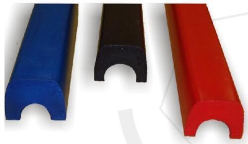 rot 44mm Polster FIA 8857-2001 für Rohrdurchmesser 38mm