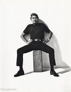 1988-Vintage-HELMUT-NEWTON-Fashion-Photographer-Vogue-Photo-Art-16x20-HERB-RITTS