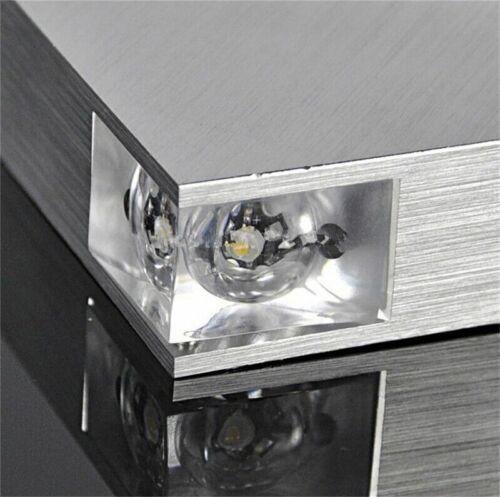 3W Triangle Wall Light Fixture Modern Aluminum LED Lamp Indoor Bathroom Sconce