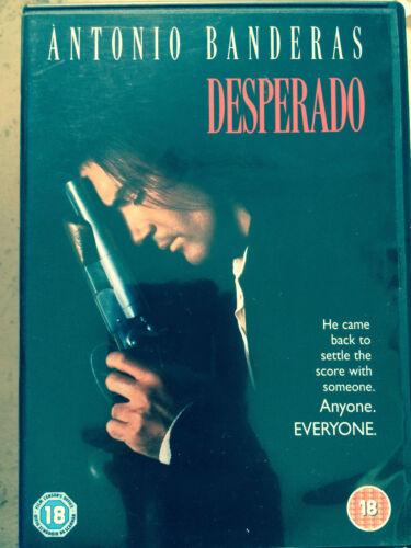 1 of 1 - Antonio Banderas Salma Hayek EL DESPERADO ~ Rodriguez Action Classic UK DVD