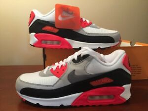 Details about Nike AirMax 90 OG Infrared Size 7.5 DeadStock 2015 Release 725233 106