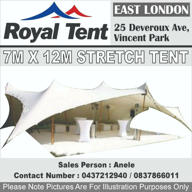Stretch Tent for Sale 7m x 12m