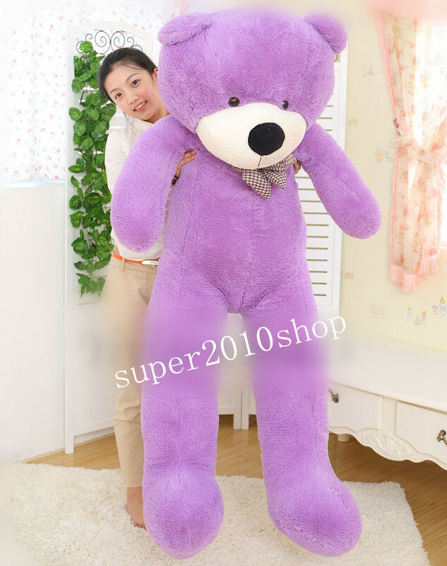 78  Giant Huge viola Teddy Bear Soft Plush Doll 200cm Big Stuffed Animal Toy us