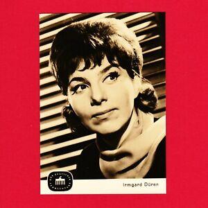 Ansichtskarte-Irmgard-Dueren-DDR-Deutscher-Fernsehfunk-Echt-Foto