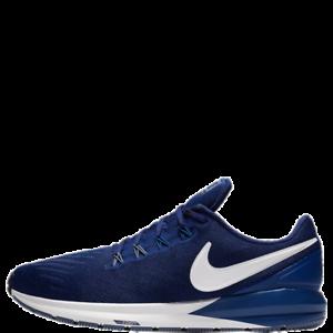nouveau produit 1ab26 d7664 Détails sur Nike Air Zoom Structure 22 N Homme Chaussures Course Bleu  Baskets 2019 -
