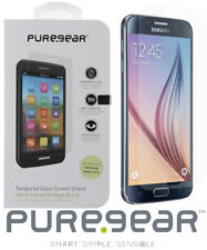 PureGear Samsung Galaxy S6 Tempered Glass Clear Screen Protector 61113PG