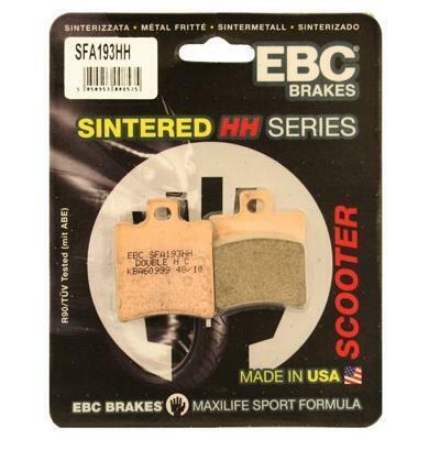 EBC Brakes SFA Sintered Scooter Brake Pads SFA358HH