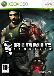 Xbox-360-BIONIC-COMMANDO-NUOVO-E-SIGILLATO-UFFICIALE-STOCK-Regno-Unito