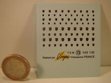 DECALS 1/43 ECUSSONS PORSCHE - VIRAGES T73
