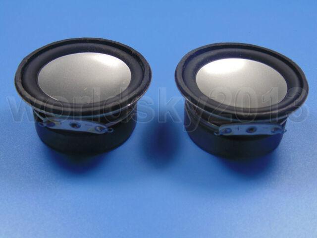 """2pcs 2"""" inch 4Ohm 4Ω 3W Full Range Audio Speaker Stereo Woofer Loudspeaker"""
